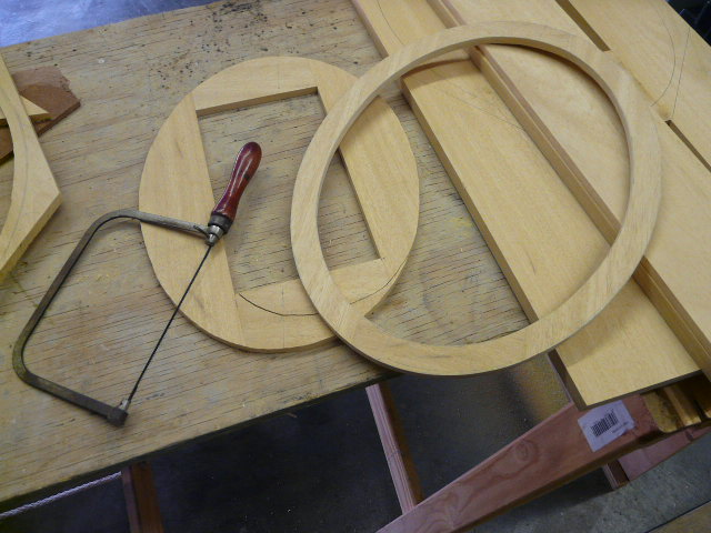 Picture Frame Making Processes At Pieter Swanepoel Studio